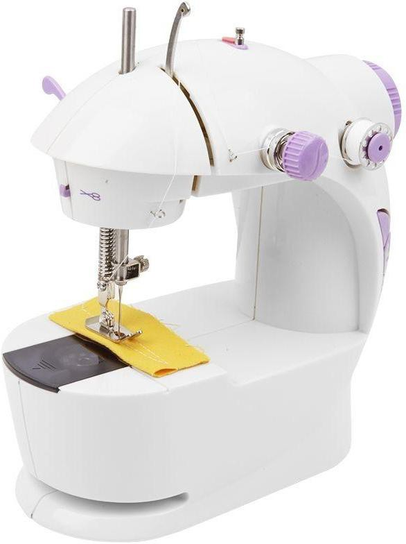 Italish White Colour Electric Sewing Machine( Built-in Stitches 1)