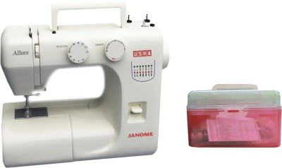Usha Allure (Kit) Electric Sewing Machine( Built-in Stitches 14)