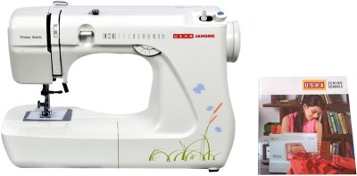 Usha Prima Stitch (Book) Electric Sewing Machine( Built-in Stitches 57)