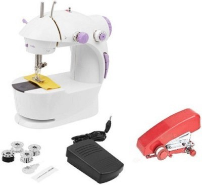 CreativeVia JH 40 Portable Compact With Accessories Mini Electric Impressive Usha Stapler Sewing Machine