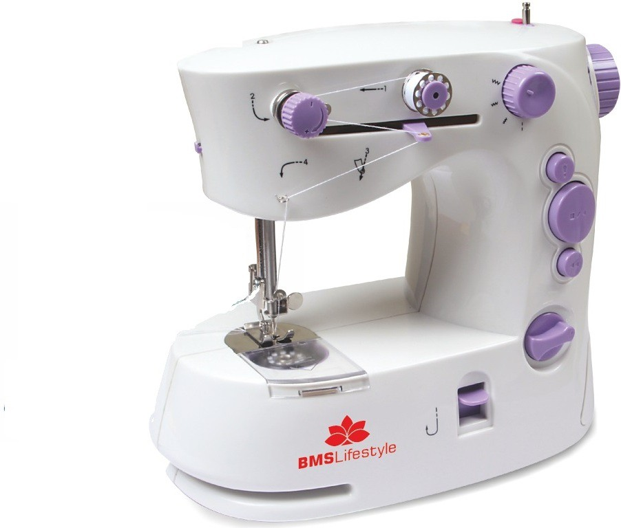 BMS Lifestyle 4In ONE Smart Portable Electric Sewing Machine( Built-in Stitches 4)