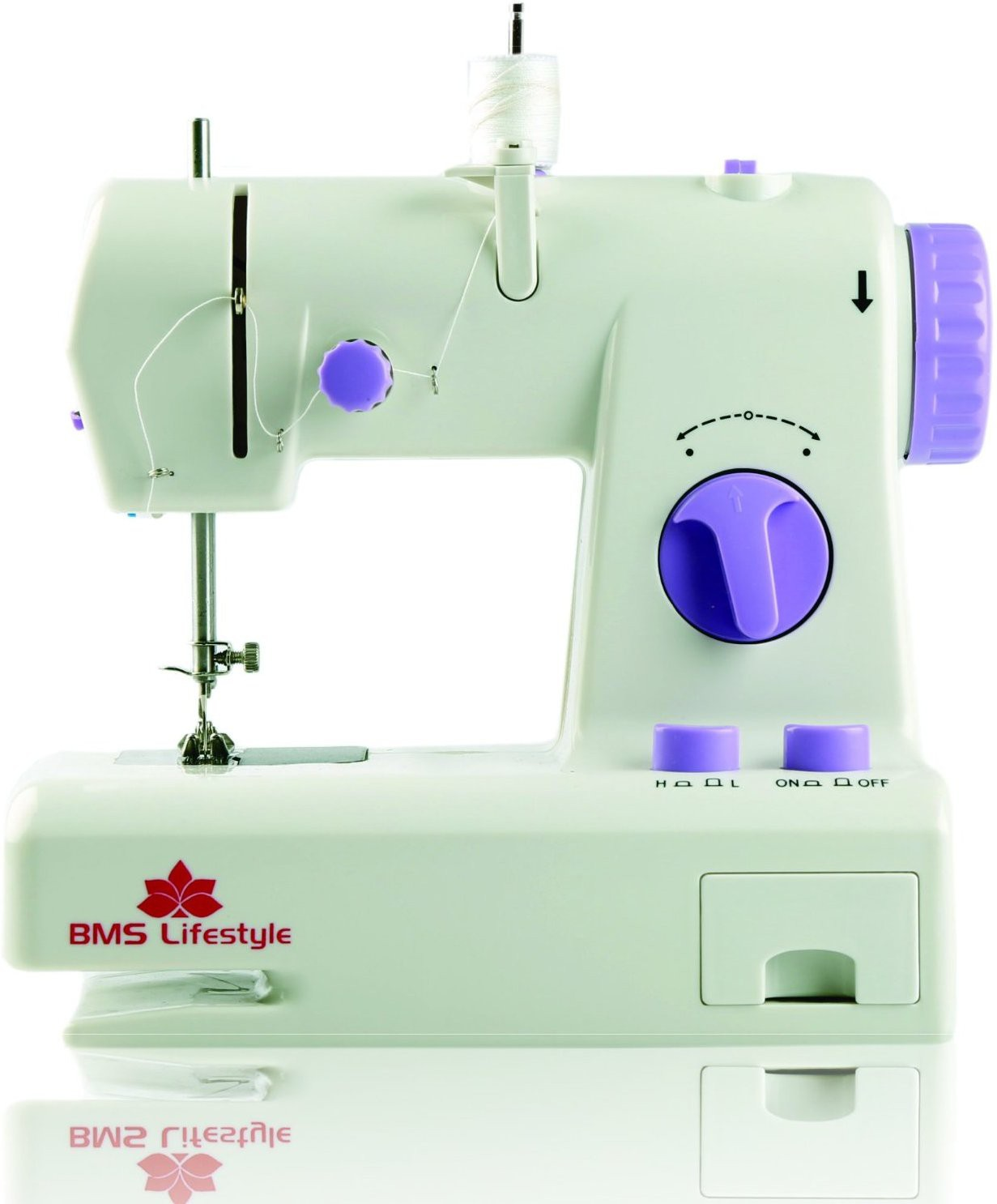 BMS Lifestyle Innovative Portable Electric Sewing Machine( Built-in Stitches 2)