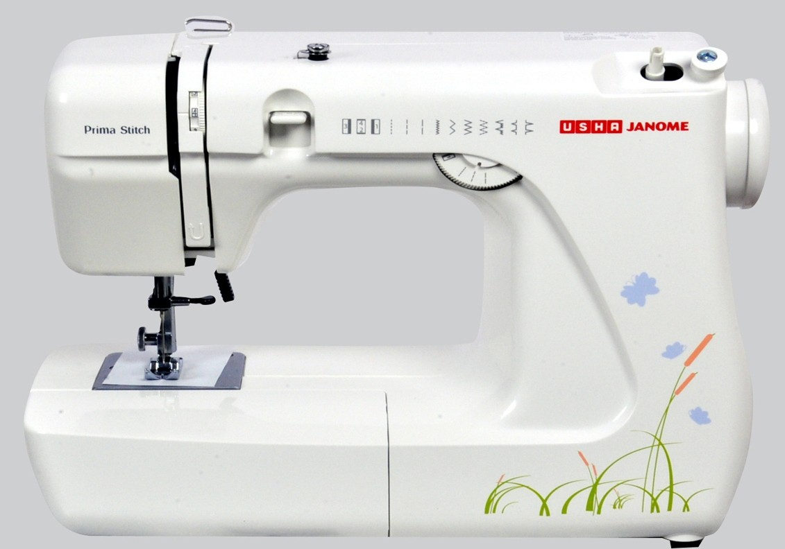 Usha Prima Stitch Electric Sewing Machine( Built-in Stitches 6)