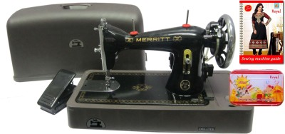 Merritt Ladies Use Electric Sewing Machine