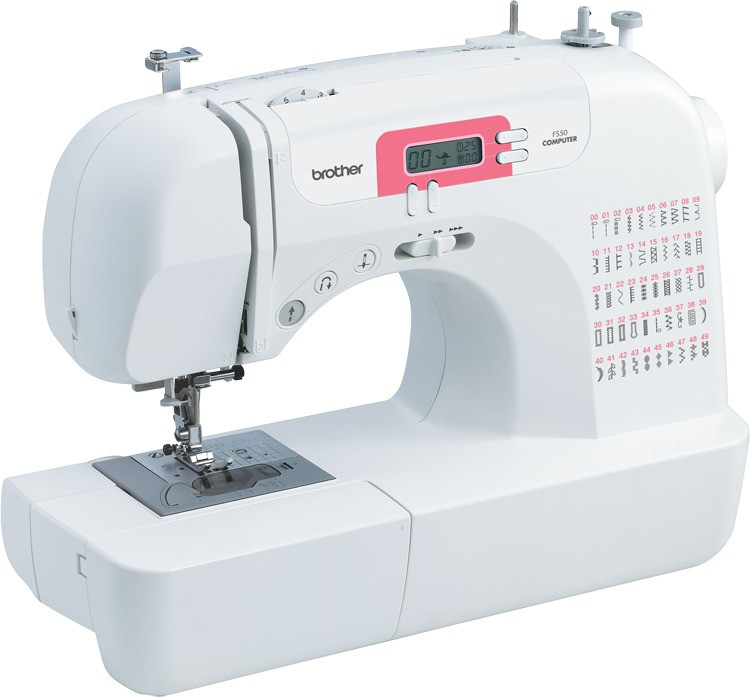 Brother FS 50 Computerised Sewing Machine( Built-in Stitches 50)
