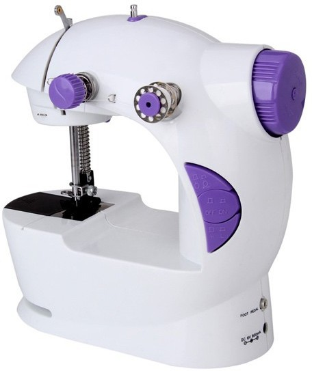 Skycandle.in 4-In-1 Powerstitch Portable Electric Sewing Machine( Built-in Stitches 45)