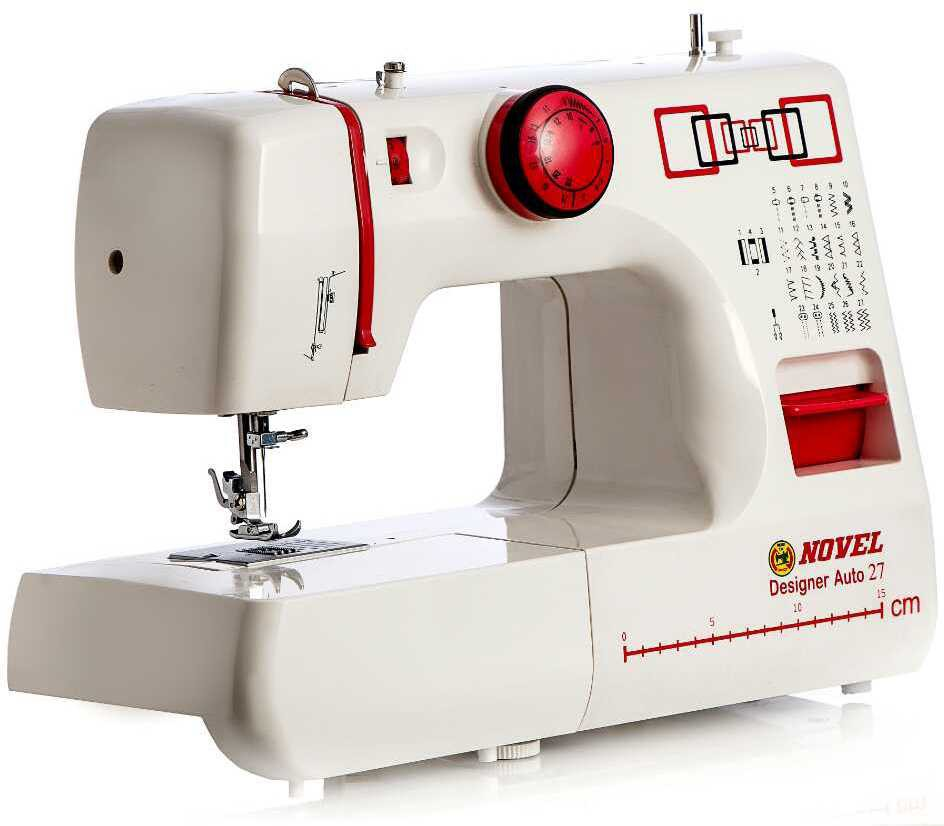 View Novel Designer Auto 27 Electric Sewing Machine( Built-in Stitches 27) Home Appliances Price Online(Novel)