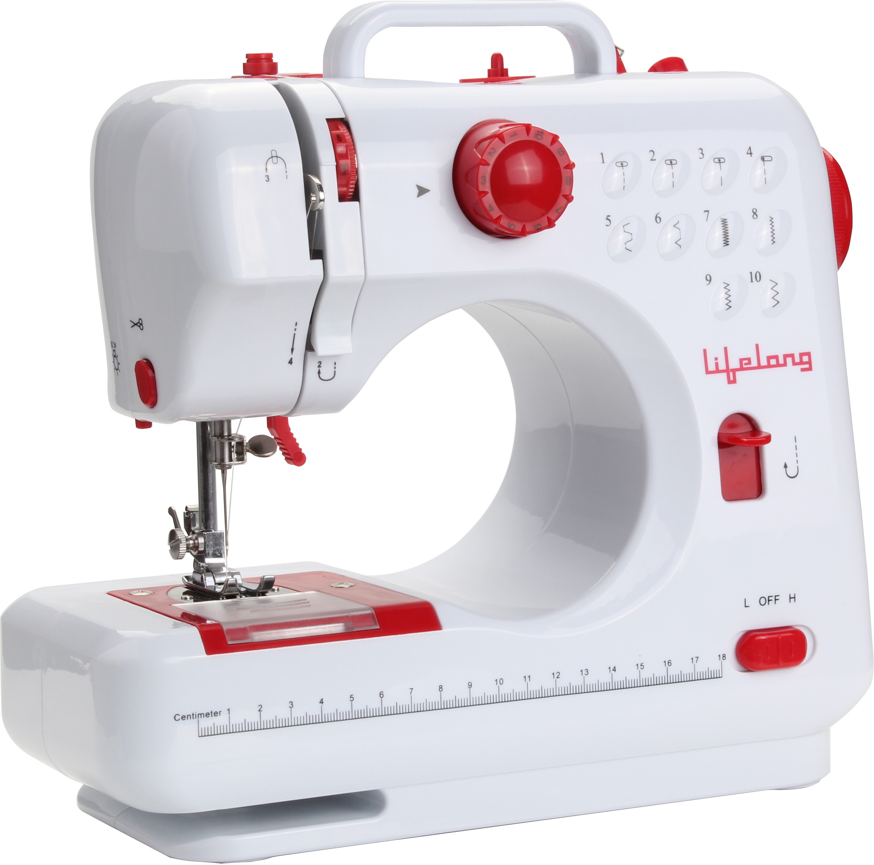 Lifelong HomeStyle Electric Sewing Machine( Built-in Stitches 10)