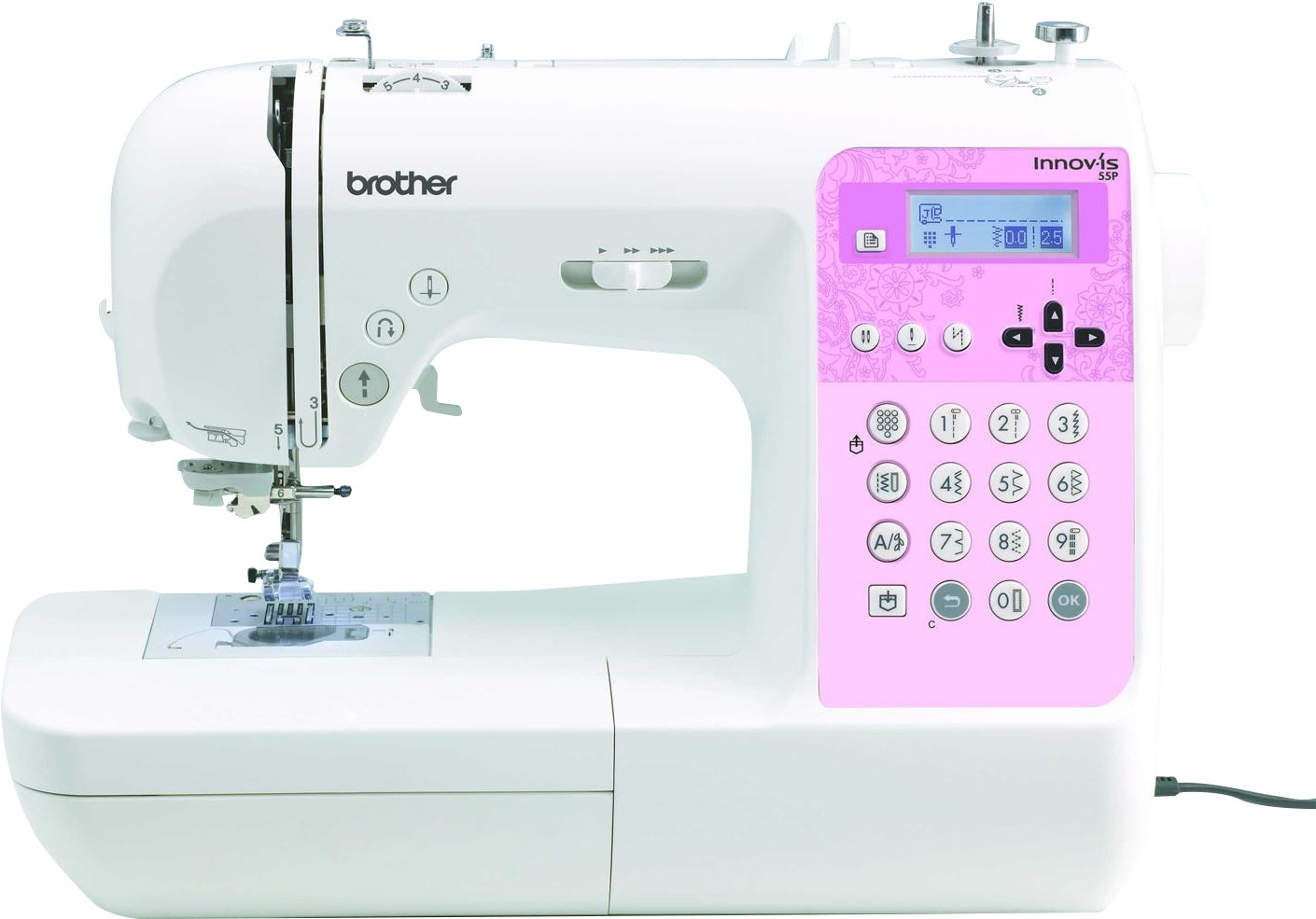 Brother INNOV-IS 55P Computerised Sewing Machine( Built-in Stitches 135)