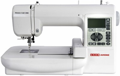 Usha MC200E-WITH-DIGITIZER-JR Embroidery Sewing Machine( Built-in Stitches 73)