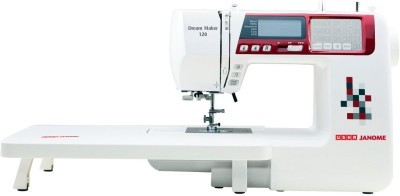 Usha Dream Maker 120 Computerised Sewing Machine( Built-in Stitches 120)
