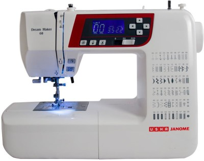 Usha Dream Maker 60 Electric Sewing Machine( Built-in Stitches 60)