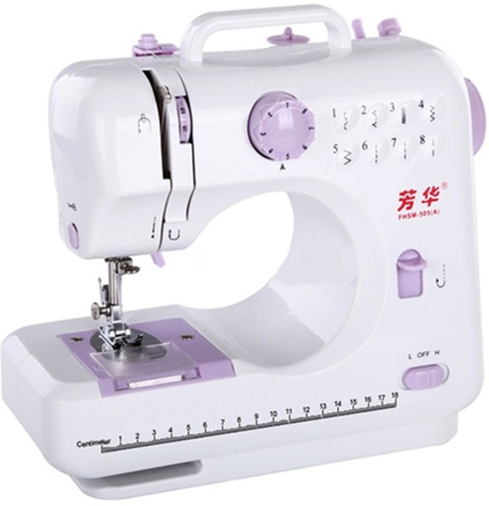 IBS Portable mini household Handheld 10 built-in Stitch Pattens Electric Sewing Machine( Built-in Stitches 15)