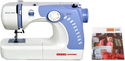 Usha Dream Stitch (Book) Electric Sewing Machine( Built-in Stitches 14)