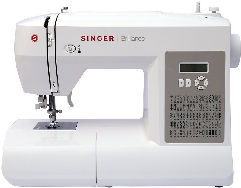 Singer BRILLIANCE 6180 Electric Sewing Machine( Built-in Stitches 80)