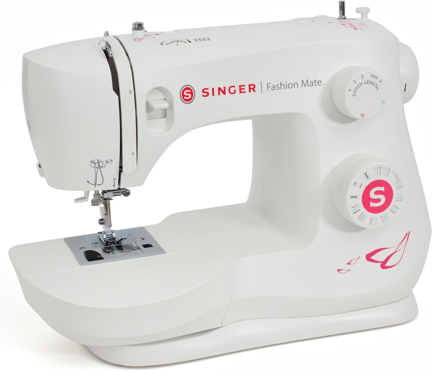 Singer Fashion Mate 3333 Electric Sewing Machine( Built-in Stitches 23)