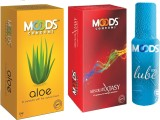 Moods Aloe & Absolute Xtasy Combo 1 with...