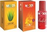Moods Aloe & Blaze Combo with Lube (Pack...