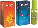 Moods Blaze & Melange Combo with Lube (P...