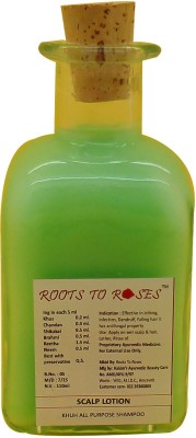 Roots To Roses Khus All Purpose Scalp Shampoo