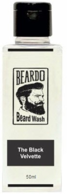Beardo The Black Velvette Beard Wash