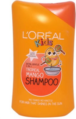L,Oreal Paris Extra Gentle 2 In 1 Tropical Mango Shampoo Super Fruity Fragrence
