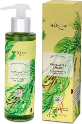Mantra Neem & Tea Tree Oil Dandruff Removing Hair Cleanser