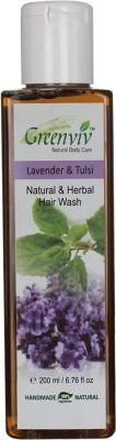 Greenviv Natural Lavender & Tulsi Hair Wash
