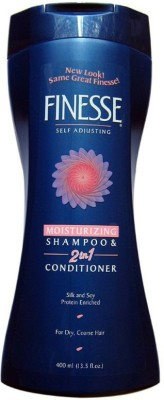 Finesse self Adjusting Moisturizing 2 in 1 Shampoo & Conditioner