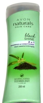 Avon Naturals Hair Care Black Shine