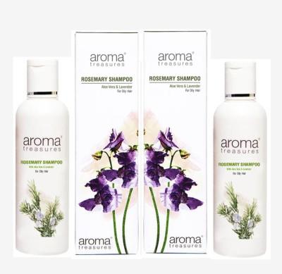 Aroma Treasures Rosemary Shampoo (100ml) (Pack Of 2)