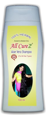 All Curez Aloe Vera Sampoo (100ml)
