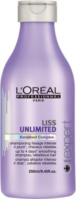 L,Oreal Paris Expert Liss Unlimited KeratinOil Comlex Smoothing Shampoo
