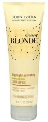 John Frieda Sheer Blonde Highlight Activating Enhancing Shampoo for Lighter Blondes