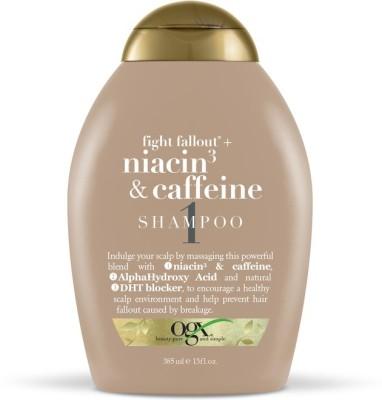 OGX Fight Fallout+ Niacin3 & Caffeine Shampoo