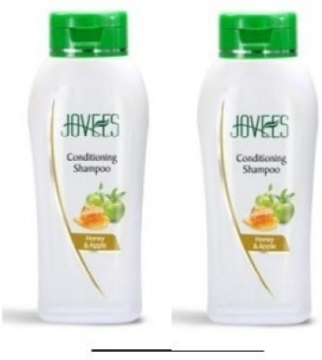 Jovees Honey & Apple Hair Conditioning Shampoo (Pack of 2)