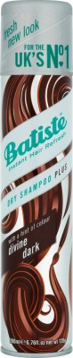 Batiste Dry SHampoo Plus Divine Dark For Dark Hair
