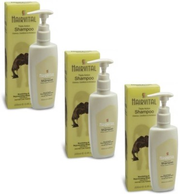 Salve Hairvital Shampoo Pack of 3