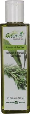 Greenviv Natural Rosemary & Tea Tree Hair Wash