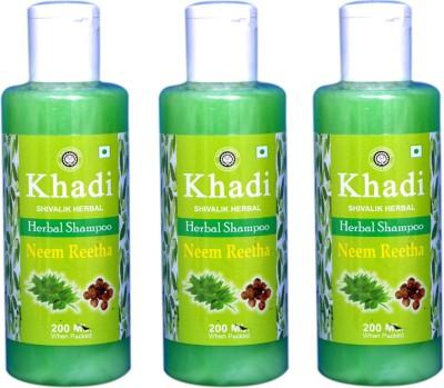 Khadi Natural Neem Reetha Herbal shampoo