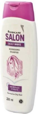 Modicare Salon Daily Shine Nourising Shampoo With Silk Protein