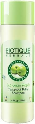 Biotique BIO GREEN APPLE TEAR PROOF BABY SHAMPOO 120 ML