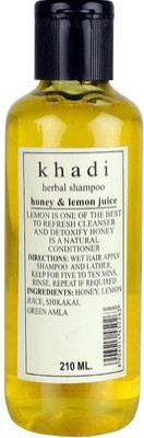 Khadi Herbal Herbal Honey & Lemon Juice Shampoo