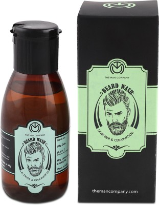 The Man Company Beard Wash - Lavender & Cedarwood