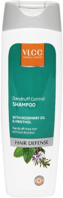 VLCC Dandruff Control Shampoo with Rosemary Oil & Menthol