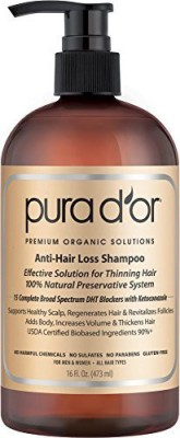 PURA D,OR Premium Organic Argan Oil Shampoo