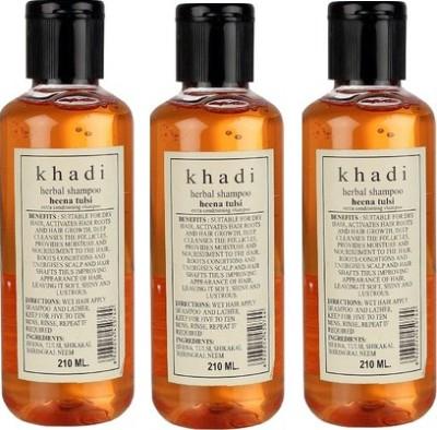 khadi Natural Heena Tulsi Shampoo