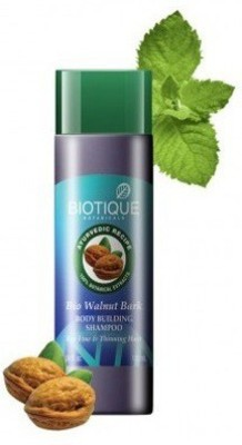 Biotique Bio Walnut Bark Fresh Lift Body Building Shampoo,190ml