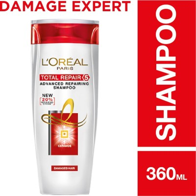 LOreal Paris Total Repair 5 Shampoo(360 ml)