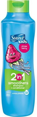 Suave Kids 2 IN 1 SMOOTHERS SHAMPOO + CONDITIONER - STRAWBERRY